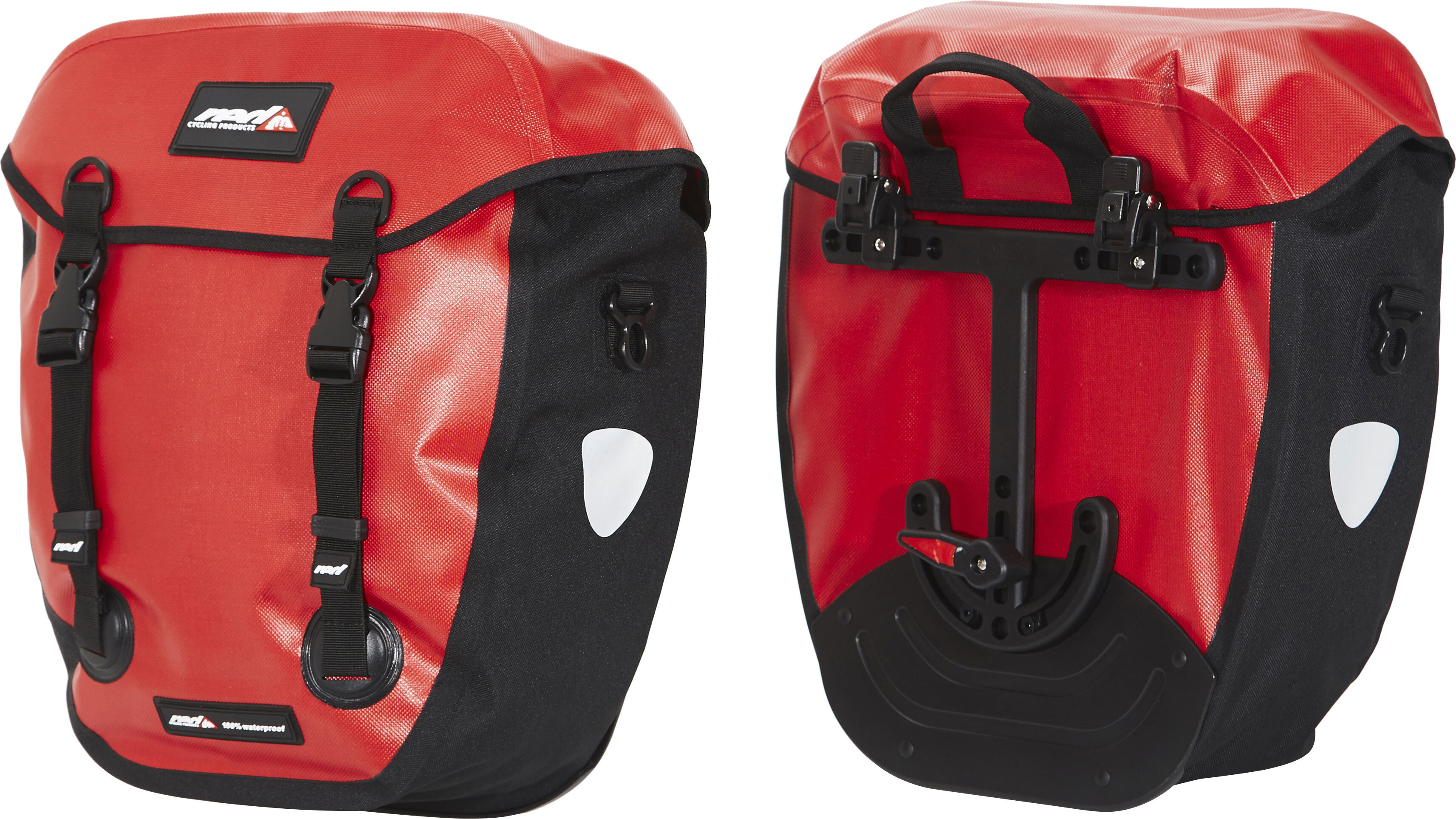 39b1f1ddda Red Cycling Products WP100 Pro II Bike Pannier red at Bikester.co.uk